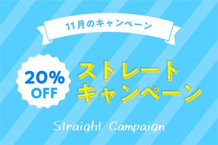 11月のキャンペーン